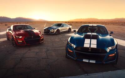 Nové Shelby GT500 je najsilnejším Mustangom určeným pre bežné cesty v histórii