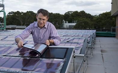 Nové solárne panely z tlačiarne môžu zmeniť svet. Sú tenké, lacné a strach nemajú ani pred slabým svetlom