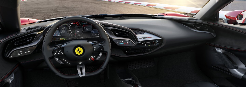 Nové Super Ferrari přepisuje historii značky. Tisícikoňový hypersport zvládne 200 km/h za 6,7 sekundy