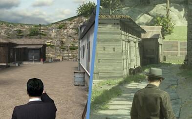 Nové trailery porovnávají první mise Mafie s očekávaným remakem. Jak se změní náročnost hratelnosti a jak vypadá mapa?