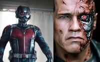 Nové zábery pre Terminátora a Ant-Mana vás presvedčia, že ísť do kina sa oplatí