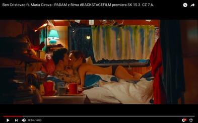Nové zábery slovenského filmu zobrazujú Máriu Havranovú v posteľnej scéne. Soundtrack s videoklipom dopĺňa Mária Čírová a Benny Cristo