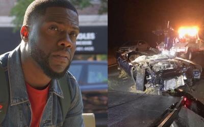 Nové zprávy o nehodě Kevina Harta. Jeho kamarád jezdil bezohledně a neměl zapnutý pás, potvrdila po měsíci kalifornská policie