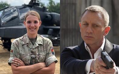 Nového Jamese Bonda by si mohla zahrát transgender vojačka z britské armády, prohlásil známý herec