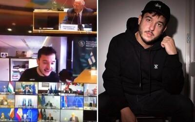 Novinář byl v šoku, když se ocitl uprostřed důvěrného online jednání ministrů Evropské unie