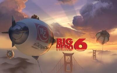 Novinka z dielne Disneyho, animák Big Hero 6 sa predstavuje v prvom traileri