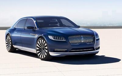 Novodobý Lincoln Continental plný luxusu a technológií je tu! Výroba už o rok