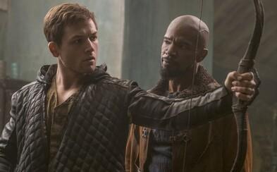 Novodobý Robin Hood pripomína Johna Wicka s lukom a šípmi. Zahral si ho Eggsy z Kingsman a v prvom traileri vyzerá úžasne!
