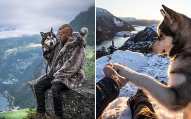 Novodobý viking zachycuje dechberoucí fotografie severské přírody