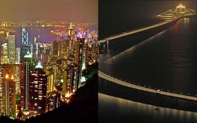 Novootvorený najdlhší most na svete môže zničiť Hongkong a zahubiť miestne delfíny