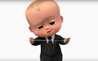 Novorodenec-manažér s povahou lídra korporácie vám v novej ukážke komédie Baby šéf predstaví dva druhy svojich zákazníkov