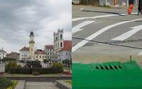 Novučičké cyklistické chodníky v Banskej Bystrici rozosmievajú Slovákov, pokojne by si na nich mohol prísť o zdravie