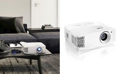 Nový 4K projektor od Optomy už umí nahradit i herní 240Hz monitor. Je přitom podezřele levný