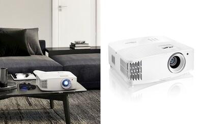 Nový 4K projektor od Optomy už vie nahradiť aj herný 240 Hz monitor. Je pritom podozrivo lacný