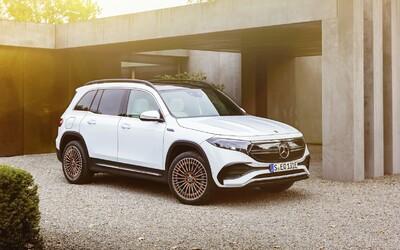 Nový elektrický Mercedes-Benz EQB má 292 koní a 419-kilometrový dojazd