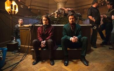Nový film Victor Frankenstein s Danielem Radcliffem v jedné z hlavních rolí. Prohlédni si první snímky