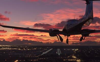 Nový Flight Simulator 2020 má přinést 4K mapy celé Země. Budou zabírat 2 petabajty dat