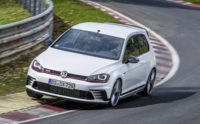 Nový Golf GTI Clubsport S spravil rekord na Nürburgringu. Prekonal i M4-ku, Gallardo či SRT Hellcat!