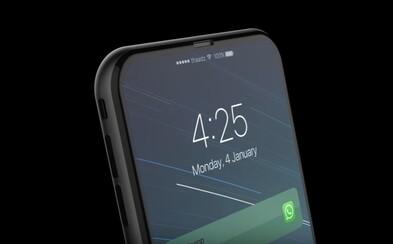 Nový koncept iPhonu 8 ti vyrazí dych. Smartfón nemá takmer žiadne rámiky a výbava zahŕňa aj Touch Bar