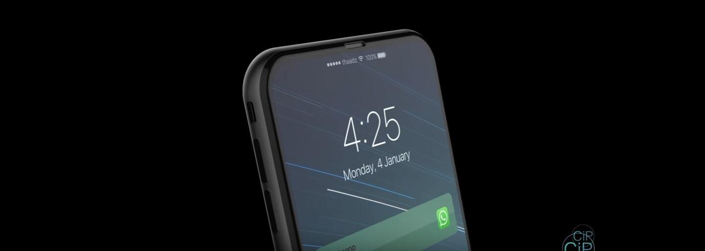 Nový koncept iPhonu 8 ti vyrazí dech. Smartphone nemá téměř žádné rámečky a výbava zahrnuje i Touch Bar