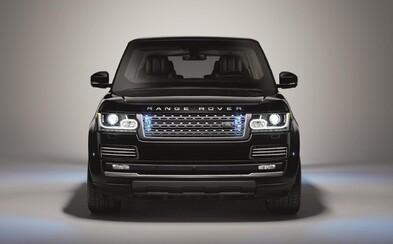 Nový luxusní Range Rover v pancéřové verzi odolá odstřelovačům, granátům a i 15 kg TNT!