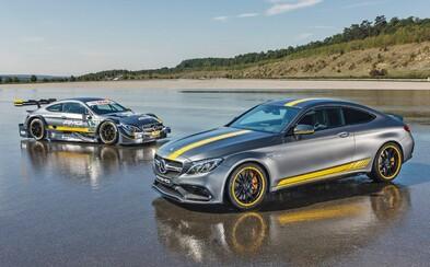 Nový Mercedes-AMG C 63 Coupé spoznávame v úvodne verzii Edition 1, ale aj ako závodné DTM