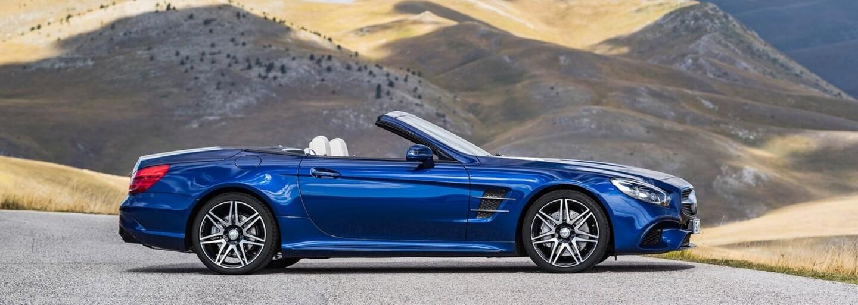 Nový Mercedes-Benz SL, včetně 630koňové dvanáctiválcové AMG verze, oficiálně přichází
