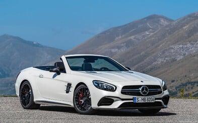 Nový Mercedes-Benz SL, vrátane 630-koňovej dvanásťvalcovej AMG verzie oficiálne prichádza