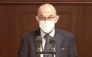 Nový ministr zdravotnictví neví, jak funguje reprodukční číslo R