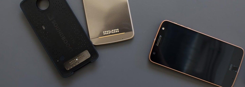 Nový modulárny smartfón Moto Z nemá 3.5 mm jack na pripojenie slúchadiel alebo reproduktorov