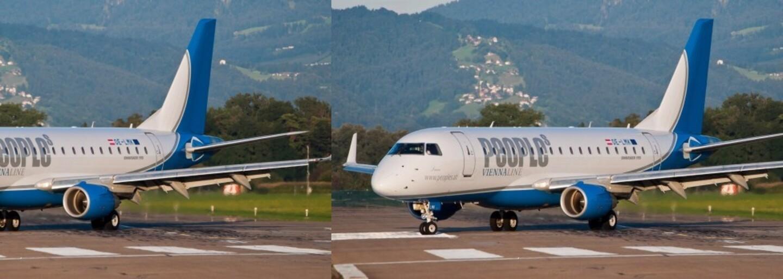 Nový najkratší medzinárodný let trvá len 8 minút. Predstihol aj rýchlosť zrušenej linky medzi Viedňou a Bratislavou