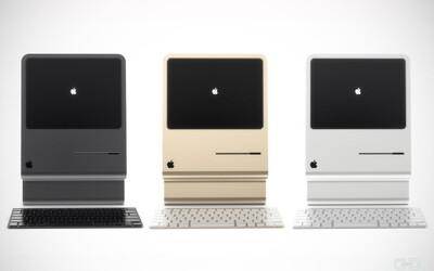 Nový návrh designu Macintoshe inspirován jeho předchůdcem