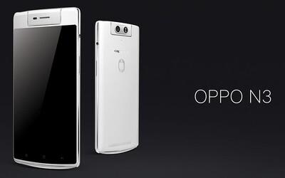 Nový Oppo N3: smartfón so samootáčacou kamerou nielen pre milovníkov selfies