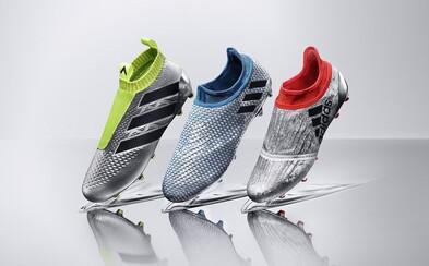 Nový rad kopačiek adidas Mercury Pack inšpiruje našich hráčov k víťazstvám