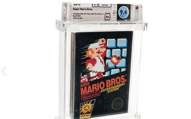 Nový rekord pre najdrahšiu hru na svete: Neotvorené Super Mario Bros. predali za 114-tisíc dolárov