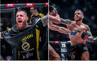 Nový šampión a boj o kráľa Bratislavy. Oktagon priniesol fanúšikom MMA ďalší nezabudnuteľný zážitok