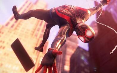 Nový Spider-Man se ukazuje v nové grafice. Miles Morales a Peter Parker jsou hvězdami nového traileru
