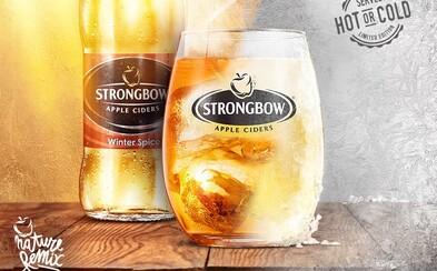 Nový Strongbow Winter Spice je dokonalým spoločníkom zimných večerov, ktorý ťa poriadne zohreje