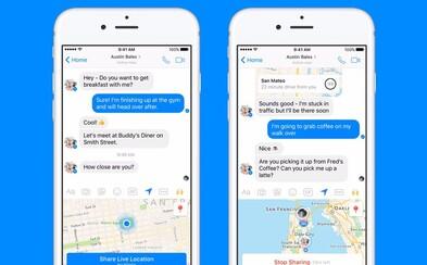 Nový update pre Messenger ti zobrazí presnú polohu tvojich priateľov. Súkromie sa z Facebooku čoraz viac vytráca