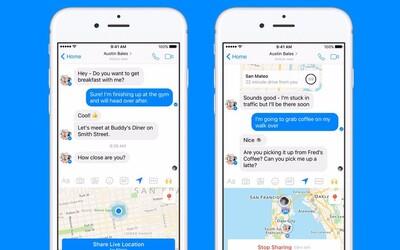 Nový update pro Messenger ti zobrazí přesnou polohu tvých přátel. Soukromí se z Facebooku čím dál více vytrácí