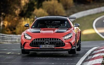 Nürburgring má nového kráľa. AMG GT Black Series je najrýchlejším sériovo vyrábaným autom