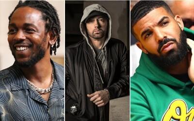 O koľko miliónov si prilepšili Drake alebo Eminem? Forbes zverejnil rebríček najlepšie zarábajúcich hip-hopových umelcov