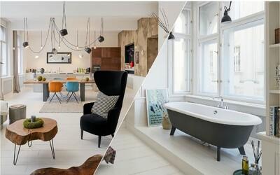 O takovémto stylovém bydlení v centru Prahy sníme snad všichni. Leží jen pár kroků od Národního divadla