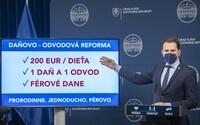 O žiadnej 25 % DPH neuvažujeme, vyvrátil Igor Matovič. Oznámil nový plán s 200 eurami na dieťa, 1 daňou a 1 odvodom