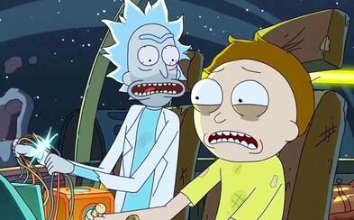 Obavy zažehnané! Rick a Morty dostanú minimálne 70 nových epizód!