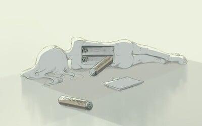 Občas je třeba se zastavit a přemýšlet. Ilustrace od japonského umělce poukazují na to, že život je komplikovanější, než by se mohlo zdát