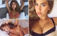 Obdarená Kara prispieva na svoj Instagram odvážnymi fotkami v plavkách. Jej nádherné telo a krásny úsmev sú snom mnohých mužov