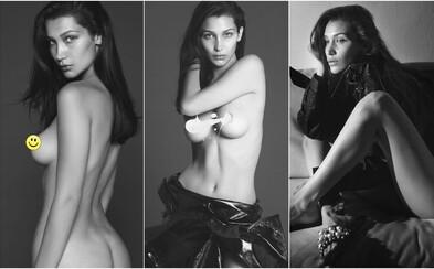 Obdarovaná priateľka The Weeknda Bella Hadid predviedla jej prednosti na stránkach Vogue Paris