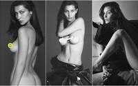 Obdarovaná přítelkyně The Weeknda Bella Hadid předvedla své přednosti na stránkách Vogue Paris