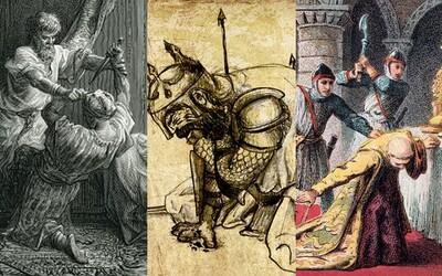 Obeť asasínskej sekty, zabitý rozvášneným davom či ubodaný v spánku. Spoznajte kruté osudy stredovekých mocipánov